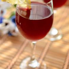 三莓冰茶的做法