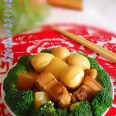 淮山炖肉的做法