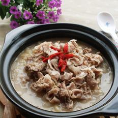 酸菜汆羊肉 的做法