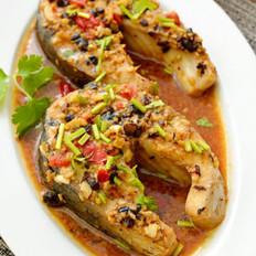剁椒豆豉蒸鱼排的做法