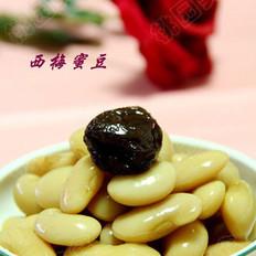 西梅蜜豆的做法