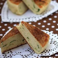 蔥香發面餅的做法