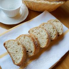 免揉亚麻籽面包的做法