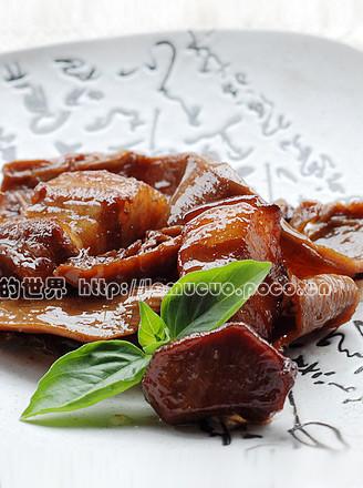 笋烧肉的做法