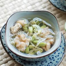 黑豆芽核桃汤的做法