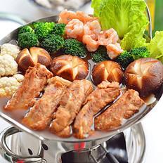 猪排火锅的做法