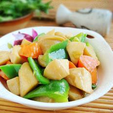 清炒胡萝卜杏鲍菇的做法
