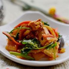 凉拌什锦素菜的做法