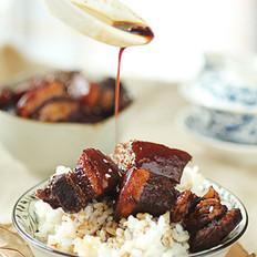 普洱茶紅燒肉的做法
