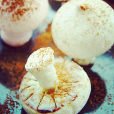 蛋白霜小蘑菇的做法