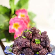 素炒紫花椰菜的做法