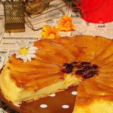 苹果翻转蛋糕的做法