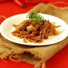 竹笋蒸鸡翅的做法