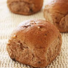 黑糖巧克力核桃面包