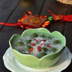 酒釀抹茶小丸子的做法