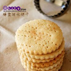 蜂蜜消化饼干