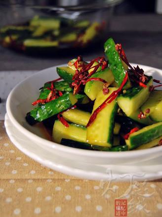 五味黄瓜条的做法