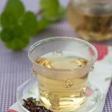 紫罗兰桂花清肺茶的做法