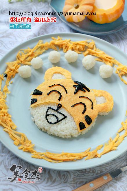 动物形状的饭团
