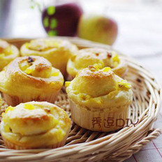苹果葡萄干面包的做法
