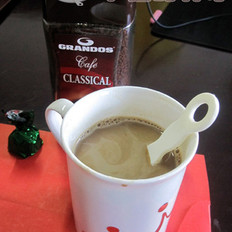 速溶黑咖啡的做法