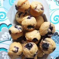 蓝莓玉米小蛋糕的做法