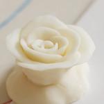 白色巧克力玫瑰花