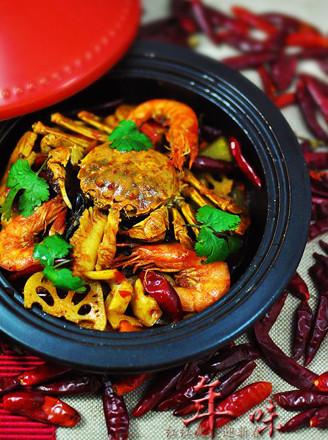 海鲜麻辣香锅的做法 家常海鲜麻辣香锅的做法 海鲜麻辣香锅的家常做