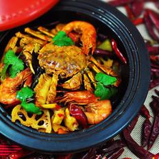 海鲜麻辣香锅  的做法