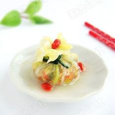 白菜水晶包