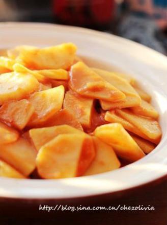 西红柿炒土豆片的做法