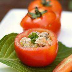 西红柿肉盏的做法