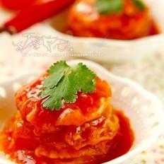糖醋番茄夹的做法