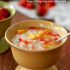 水果甜饭的做法