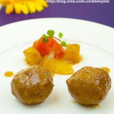 咖喱肉丸的做法