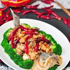 香辣鲈鱼的做法