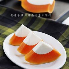 木瓜椰奶凍的做法