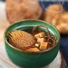 虫草菇咸肉汤的做法