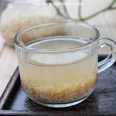 消脂米茶的做法