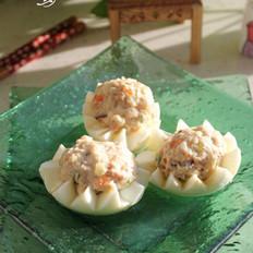 蛋白豆腐丸子的做法