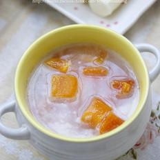 木瓜椰汁的做法