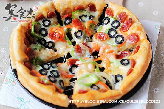 腊肠黑橄榄披萨Mj.jpg