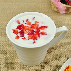 草莓酸奶的做法