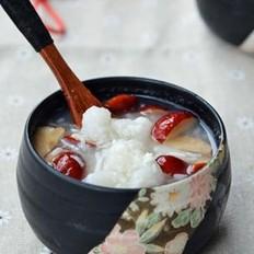 红枣甜酒煮糍粑
