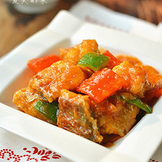 茄汁黄鱼的做法