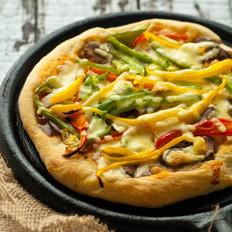 厚底匹萨的做法