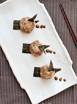 麻酱蒜泥虾皮墩的做法
