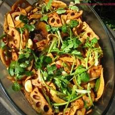 豆豉香辣烤鱼的做法