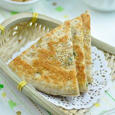 全麥發面蔥油餅的做法