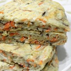 胡萝卜香菇饼